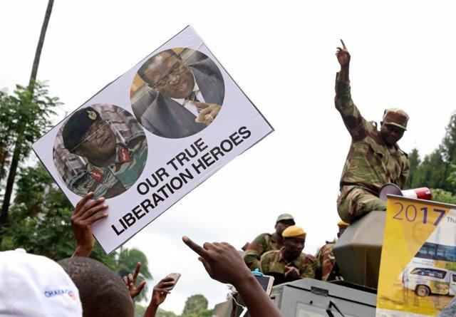 Protestas contra Robert Mugabe