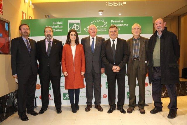 Premios periodistas vascos 2017
