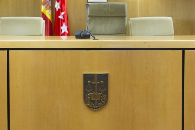 Audiencia Provincial de Madrid, sala de juicios, juicio, sentencia, banquillo