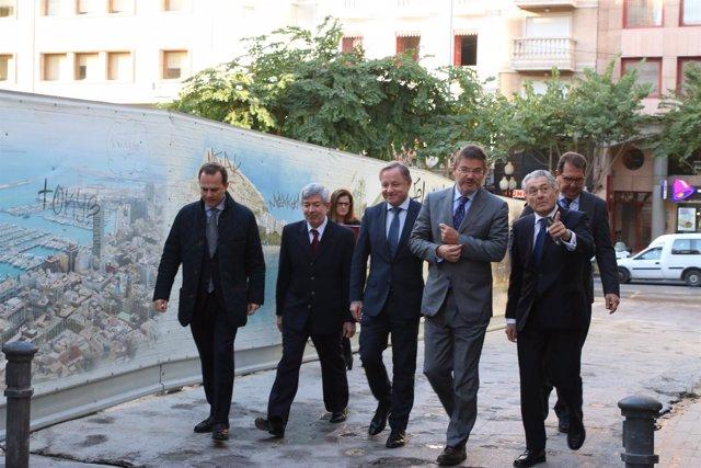 Catalá junto con Moragues