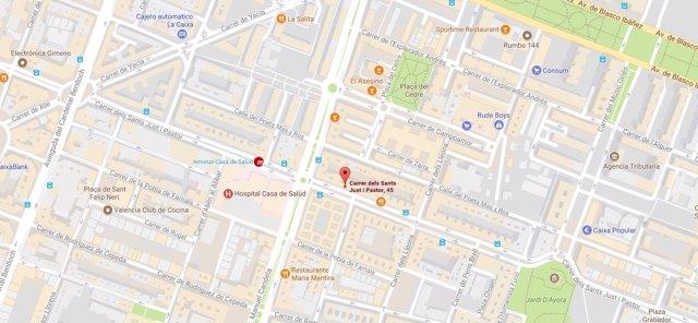 Una mujer fallece en un incendio en una vivienda de València