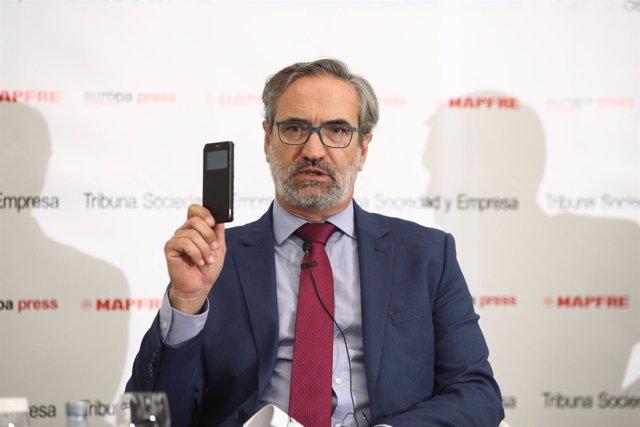 Luis Jiménez Muñoz, Subdirector General del Centro Criptológico Nacional del CNI