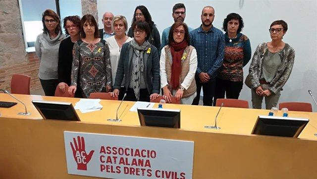 Presentación de la Associació Catalana pels Drets Civils