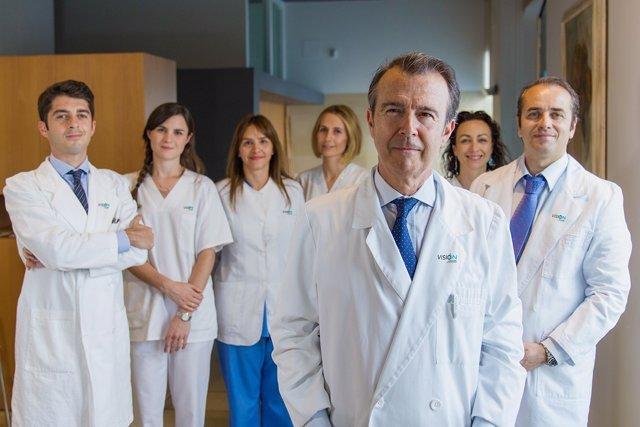Equipo médico de Visioón Oftalmólogos