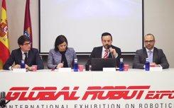 Global Robot Expo 2018, presentación de la feria