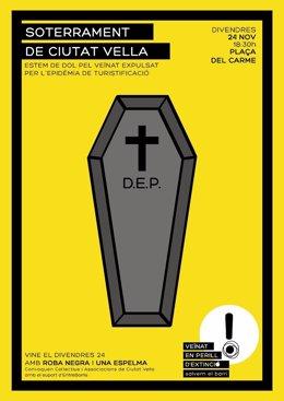 """Entidades realizarán un """"entierro"""" del barrio"""