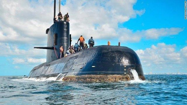 MUNDO | España envía equipamiento de rescate para el submarino argentino desaparecido