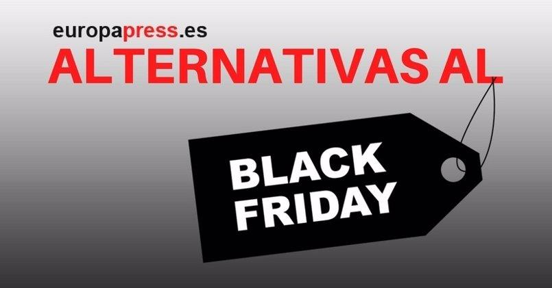 ¿Cansado del Black Friday? Éstas son algunas de las alternativas a la jornada de compras