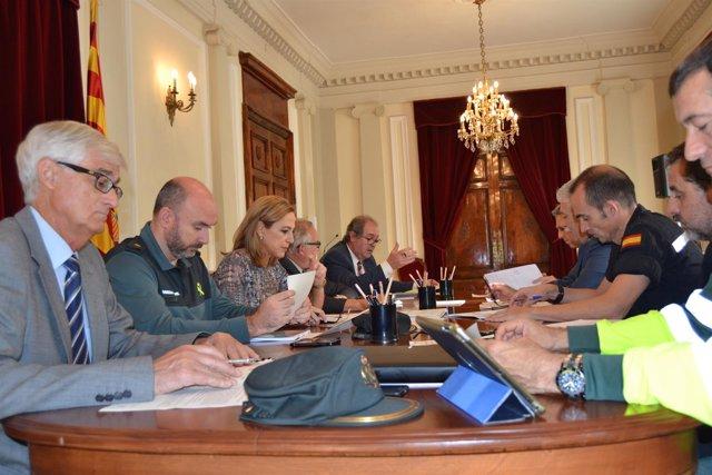 Reunión en Huesca sobre el Plan  de Vialidad invernal