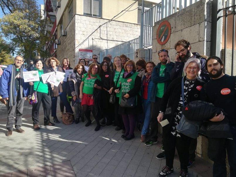 """Sindicatos lanzan movilizaciones para protestar contra la """"paralización"""" del acuerdo sectorial en educación"""