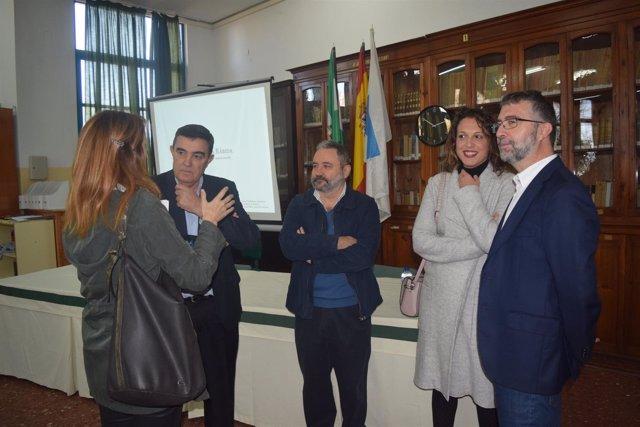 Presentación del proyecto de restauración del IES La Rábida en Huelva