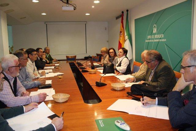 Jurado de los premios taurinos de la Junta en Huelva