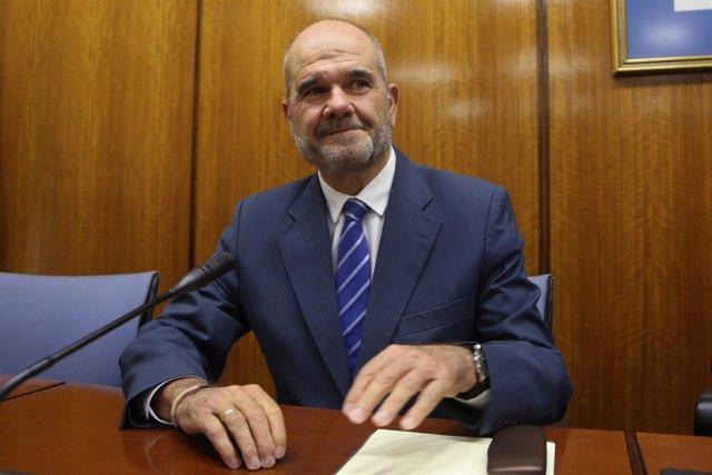 El expresidente de la Junta Manuel Chaves ante la comisión de investigación
