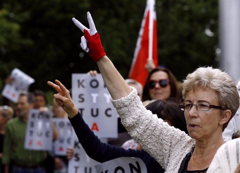 Una veintena de organizaciones alertan del riesgo de la reforma judicial polaca