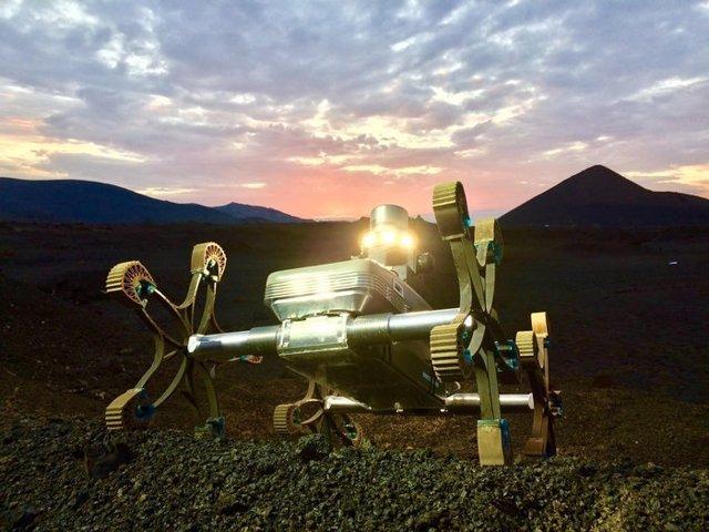 Nuevo diseño de rover marciano