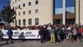 CONCENTRACION FRENTE AL PALACIO DE JUSTICIA DURANTE EL JUICIO POR LA SUPUESTA VIOLACION GRUPAL REIVINDICANDO NO ES NO