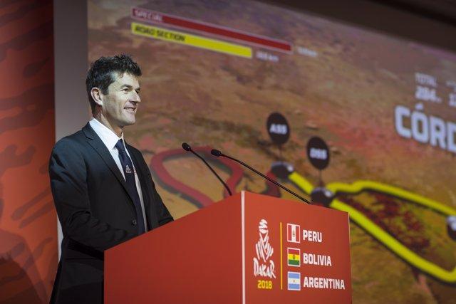 Marc Coma explica el recorrido del Dakar 2018