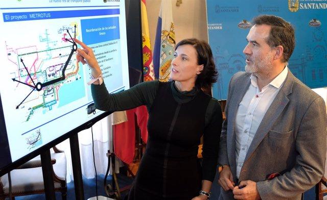 Presentación de la reordenación del transporte urbano