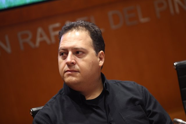 Rueda de prensa de Juan Pablo Escobar, hijo de Pablo Esxcobar