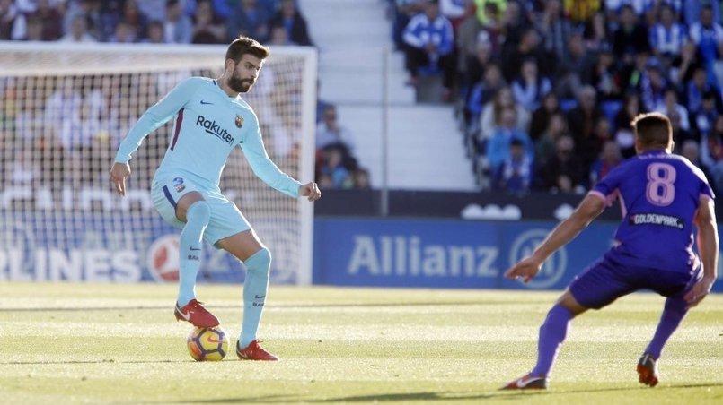 Piqué y Marcelino se perderán el duelo de Mestalla