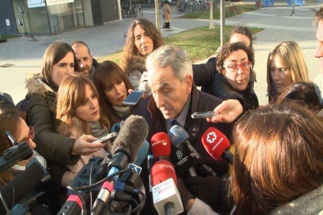 Carlos Bacaicoa, abogado de la joven denunciante de violación grupal.