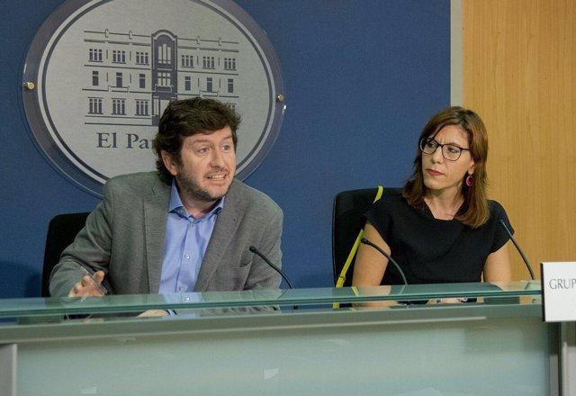 Jarabo y Camargo en rueda de prensa