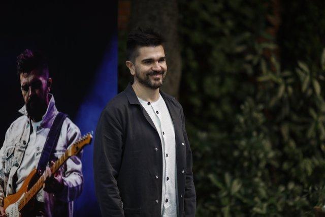 El cantante Juanes presenta su único concierto en España