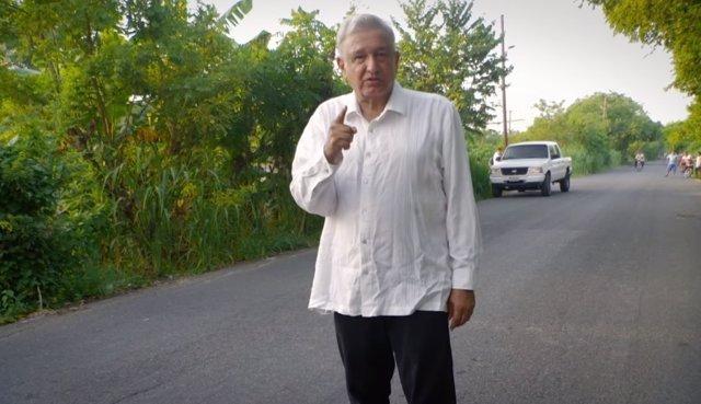 Candidato López Obrador