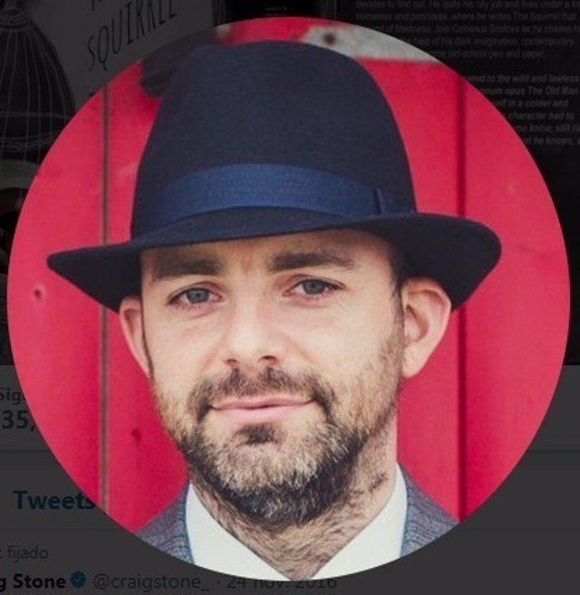 Craig Stone, escritor que pasó una depresión y ahora es escritor