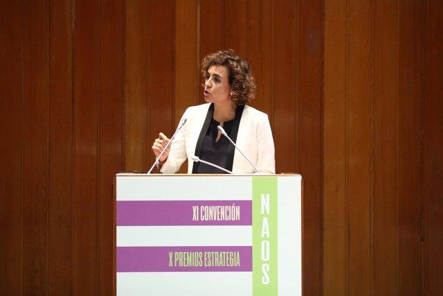 Montserrat en la entrega de la X edición de los Premios de la Estrategia NAOS