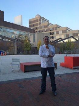 El chef Ángel León en la Universidad de Harvard