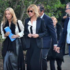 Susanna Griso da el último adiós a su madre