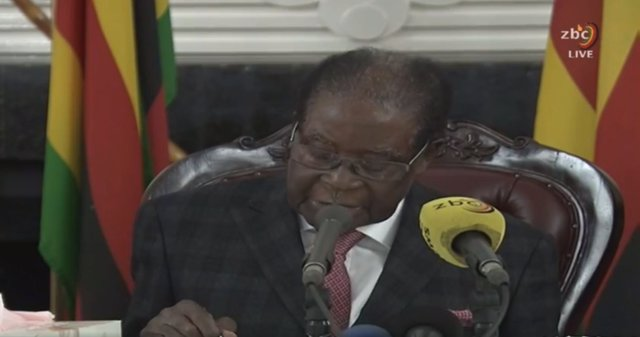 El president de Zimbàbue, Robert Mugabe