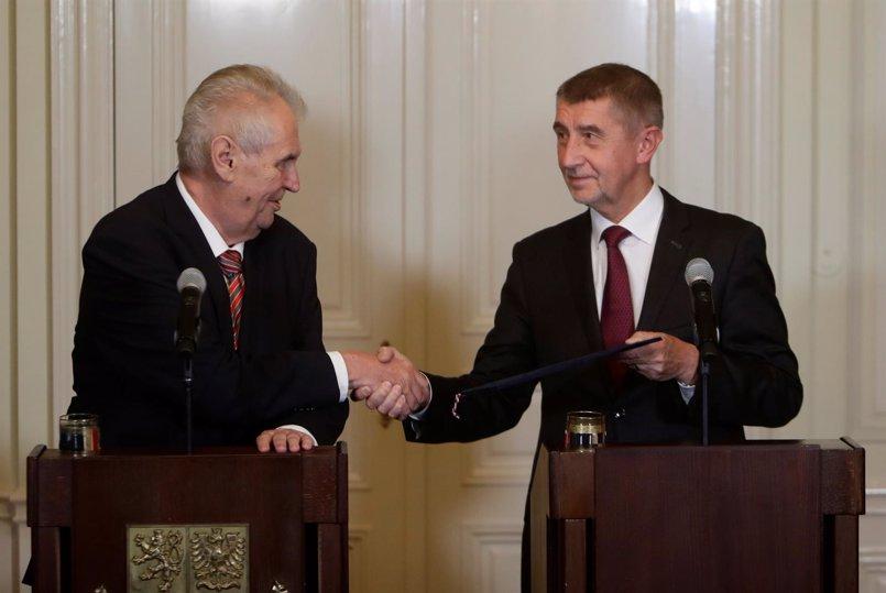 El presidente checo nombrará primer ministro a Andrej Babis, investigado por fraude de subvenciones