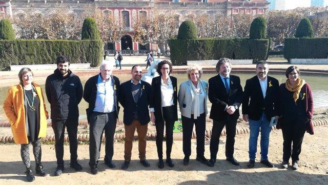 A.Vergés, R.Wagensberg,E.Maragall,F.Mohedano,M.Rovira,A.Castellà,G.Fernández,ERC