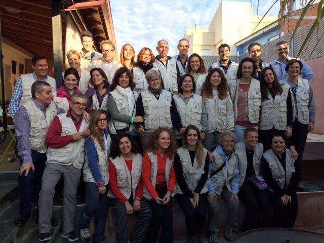 Todo el equipo de Cirugía Solidaria