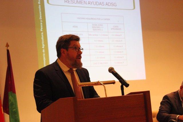 Consejero de Agricultura en Málaga, Rodrigo Sánchez Haro
