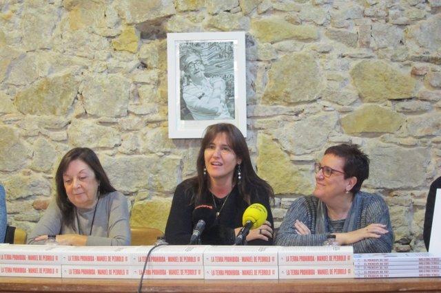 Adelais de Pedrolo, Laura Borràs y Anna Villalonga