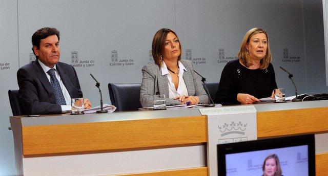 Del Olmo analiza el Cupo Vasco tras el Consejo de Gobierno