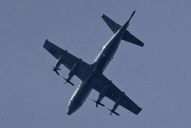 Avión estadounidense en Filipinas