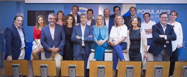 Comité de Dirección del PP en la Comunidad de Madrid