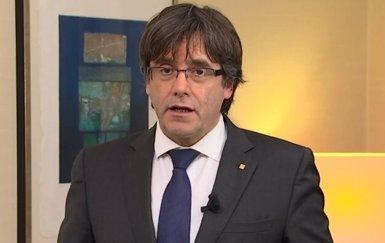 """Puigdemont s'ofereix a debatre amb Rajoy a Bèlgica: """"Ha d'haver-hi aquesta conversa"""" (TV3)"""