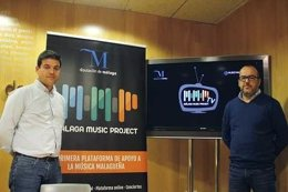 Cristobal Ortega y Eduardo Martín Málaga Music Project música