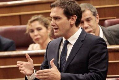 """Rivera no veu """"just"""" que Sánchez descarti un pacte amb Cs mentre el PSC fitxa exmembres d'Unió (CIUDADANOS)"""