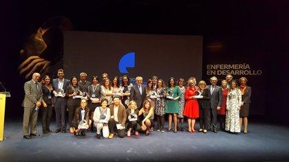 Las actrices Alicia Borrachero, Anna Moliner y Carles Francino, galardonados en los premios 'Enfermería en Desarrollo'