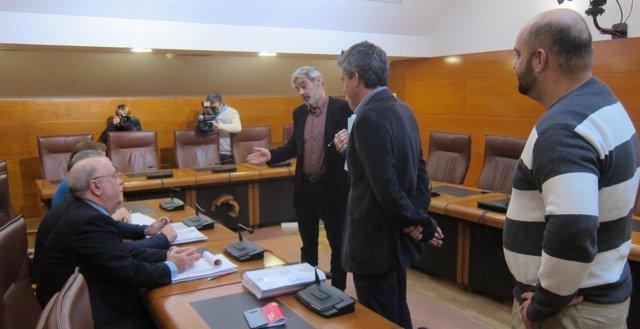 Van den Eynde explicando las razones de no sentarse a negociar los PGC