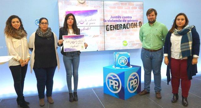 NNGG campaña contra la violencia de género