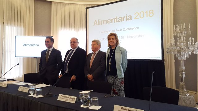 J.Antonio Valls, Josep Lluís Bonet, Fernando José Burgaz, María Naranjo