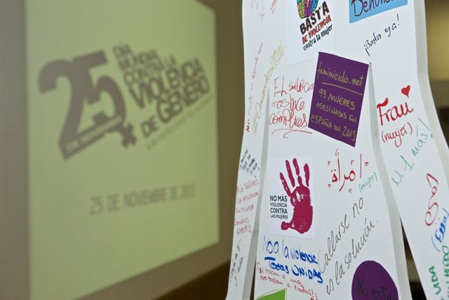 Acción en el día internacional contra la Violencia de Género