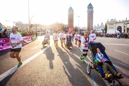 Tres niños con ataxia telangiectasia participarán en las 'Maratones Zurich' de San Sebastián y Málaga